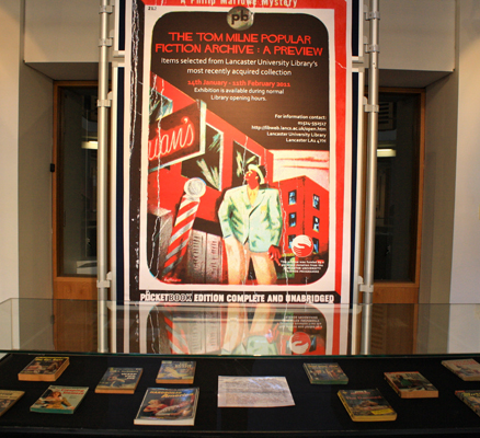 Library exhibit poster