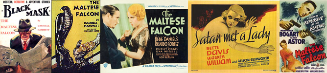 Maltese Falcon text-film